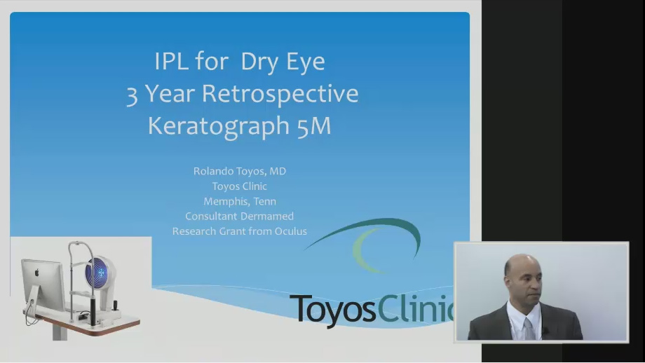 The Perfect Marriage - IPL for Drye Eye Treatment and Keratograph 5M