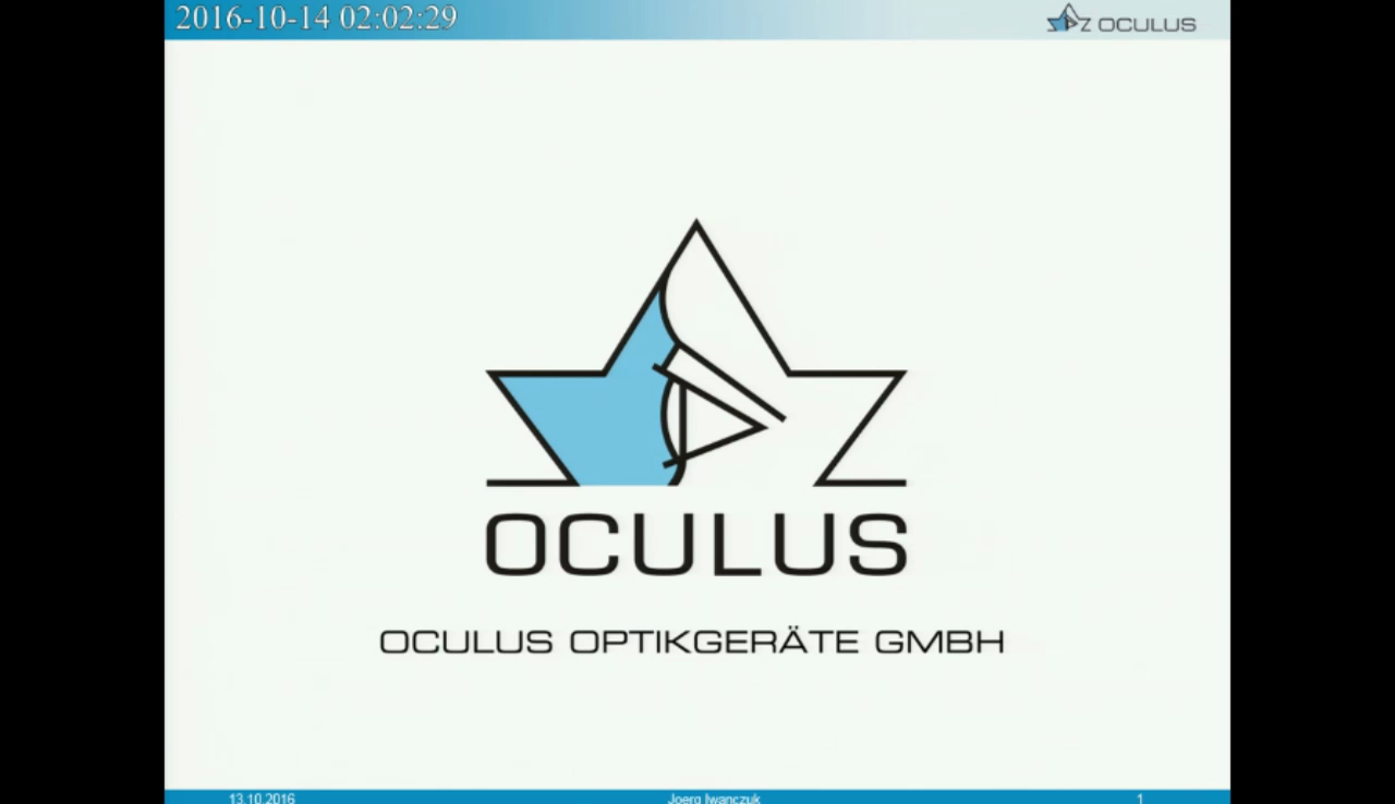 "Video ""Features and benefits of the OCULUS Pentacam®"" öffnen"