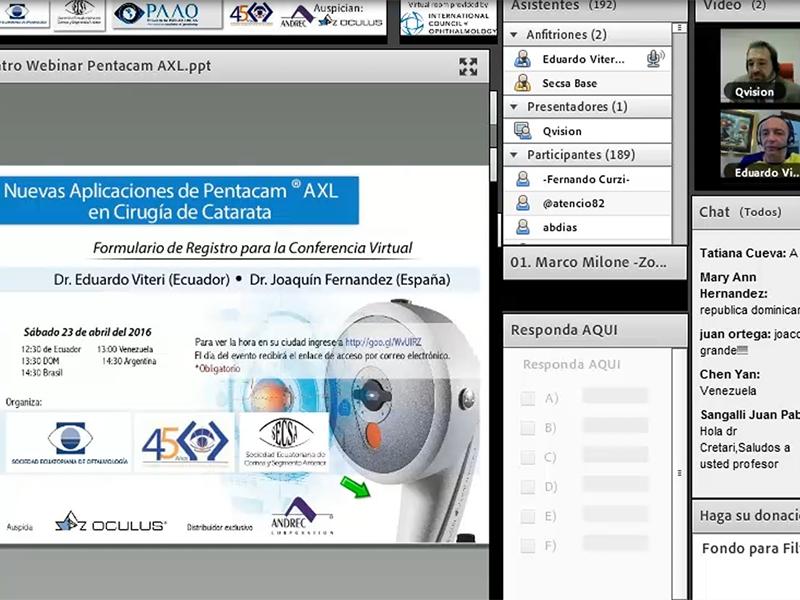 Nuevas aplicaciones de Pentacam® AXL en cirugía de Catarata